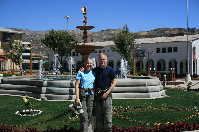 Plaza in Huaraz