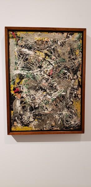 Jackson Pollock, in Pompidou