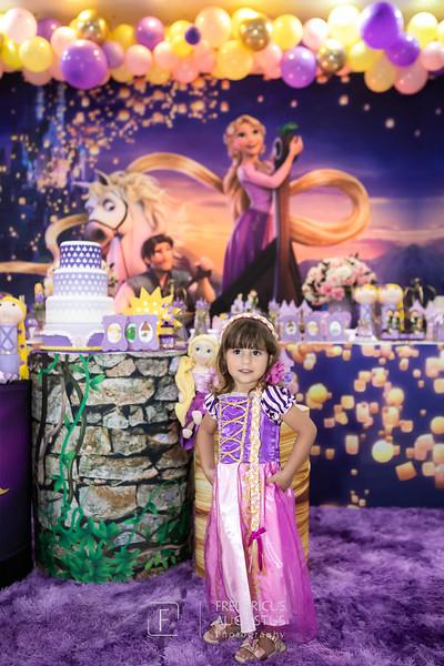 Aniversário 3 anos Marina - Enrolados