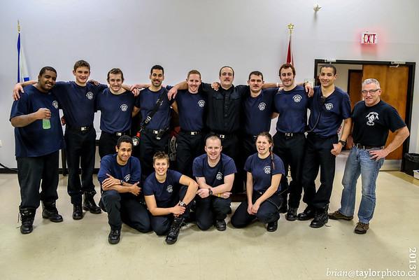 Nova Scotia Firefighters School Pre-Employment Class #22 - 24 hr Event.