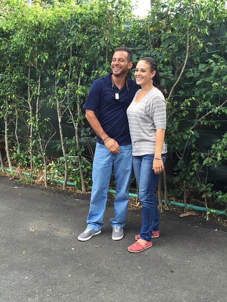 Yehudi Hernandez and Alexis Wren