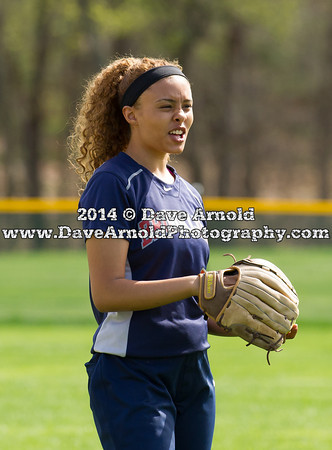 5/7/2014 - Varsity Softball - Brookline vs Needham