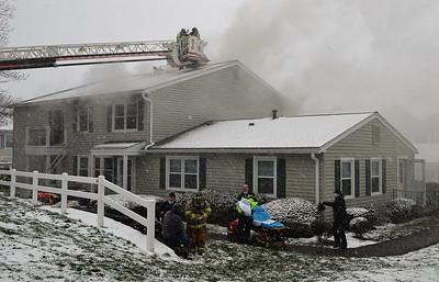 3 Alarm Apartment Building Fire - Falcon La. W Perinton, NY -4/1/21