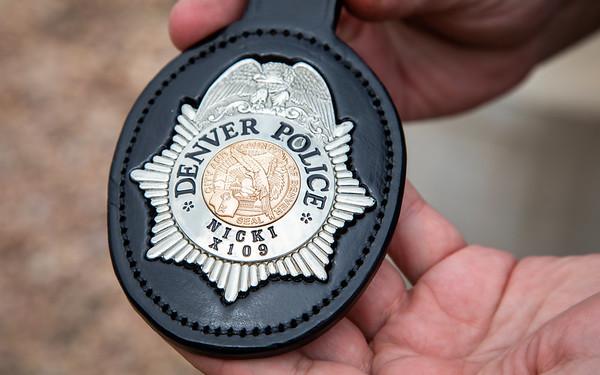 8-1-18 Denver Police K9s Get Badges
