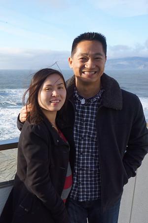 Golden Gate Bridge and Japanese Garden Dec 2014
