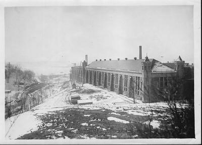 Fort Madison Prison Cellhouse construction