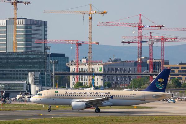 HZ-ASB - Airbus A320-214