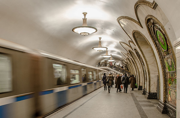 The Underground in Moscow