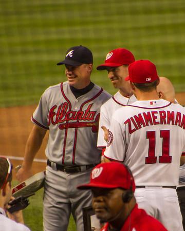 Washington Nationals vs Braves 8/22/12