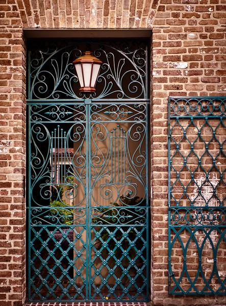"' Music Gate ' Charleston, SC  12""x16"", Luster paper (12 mil)"