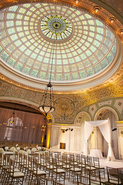 Le Cape Weddings - Chicago Cultural Center Weddings - Kaylin and John - 011 Ceremony Details 12