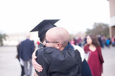 Dominic, Graduation