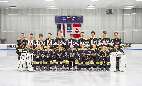 Maine Moose Hockey U16A