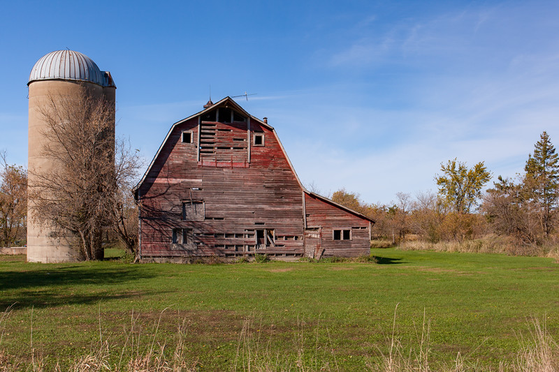 Nebraska Barn And Silos