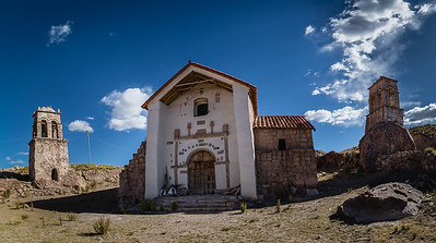 2018 - BOLIVIA: CHURCHES OF THE ALTIPLANO