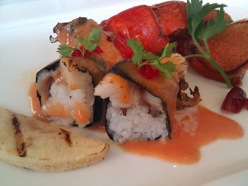 Kabuto Japanese Restaurant - Baby Main Lobster