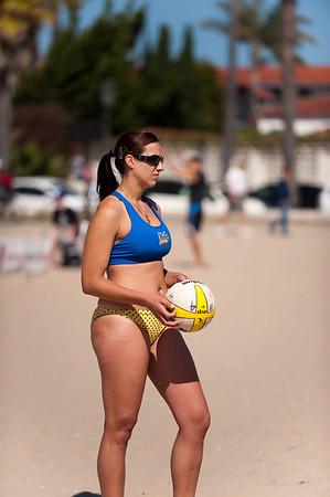 2010 CBS ALT Games  Collegiate Beach Volleyball -  Santa Barbara, CA