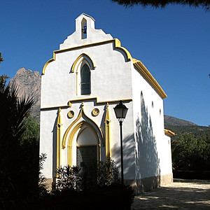 10585 Chapel on the hills of old Finestrat