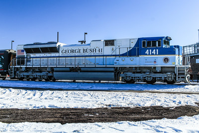 UP4141, in honor of George H. W. Bush