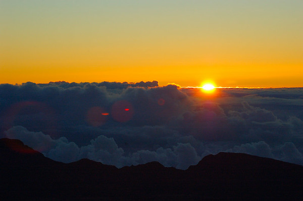 Sunrise on Mt. Haleakala