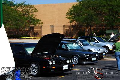 Deutsche Marque Car Show at Crestwood Mall 06-26-10