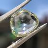3.46ct Portrait Rose Cut Trapezoid Diamond GIA UV VVS2 36