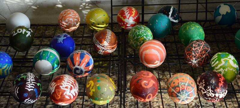 Ukranian Easter Egg Painting Soire  - Apri 19, 2014