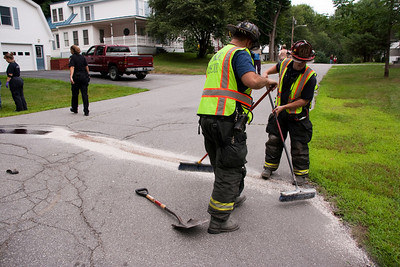 2 car 10-55 Rollover - Court Street - July 20, 2010