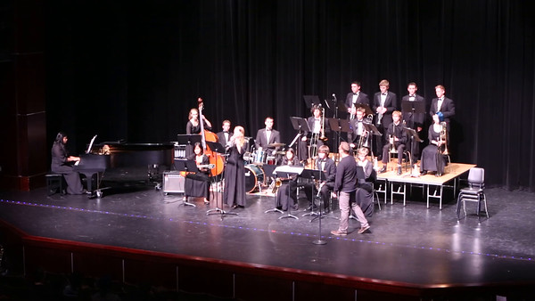 2014-11-19 Jazz Band Pathways Concert at Northshore PAC
