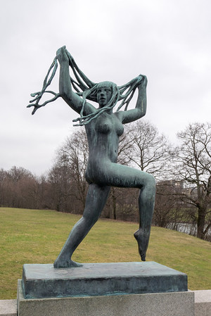 Vigeland Sculpture Park -- Feb 2014