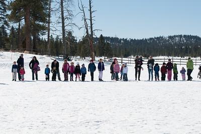 Snowboot Race