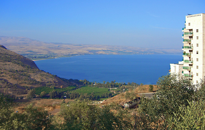 1-Sea of Galilee from Upper Tiberius