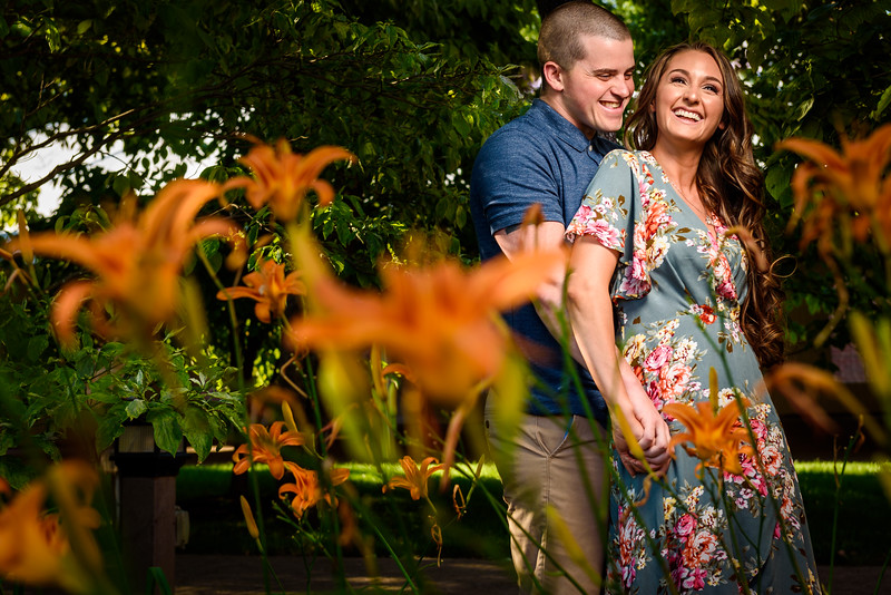 Kacey & Will's Engagement Session - Smithville Park