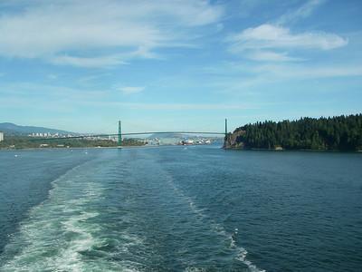 Alaska Cruise 2006 First Day