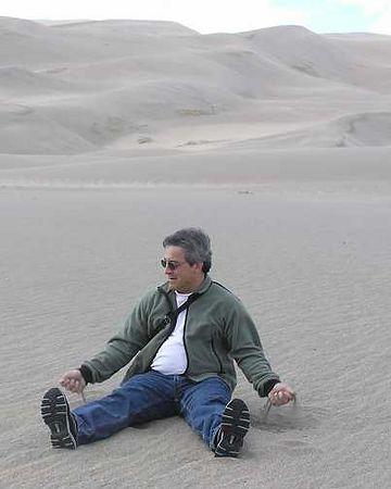 Rick reverts to his sandbox days.