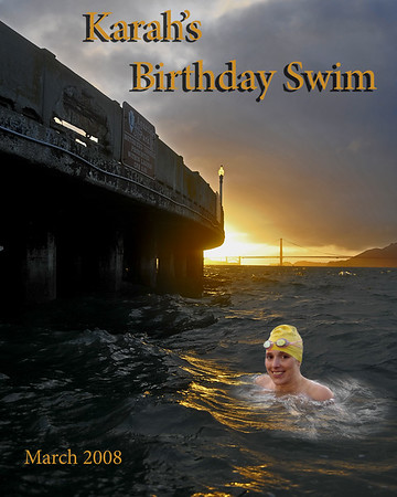 Karah's Birthday Swim