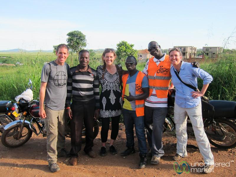 Boda Boda Tour of Kampala - Uganda