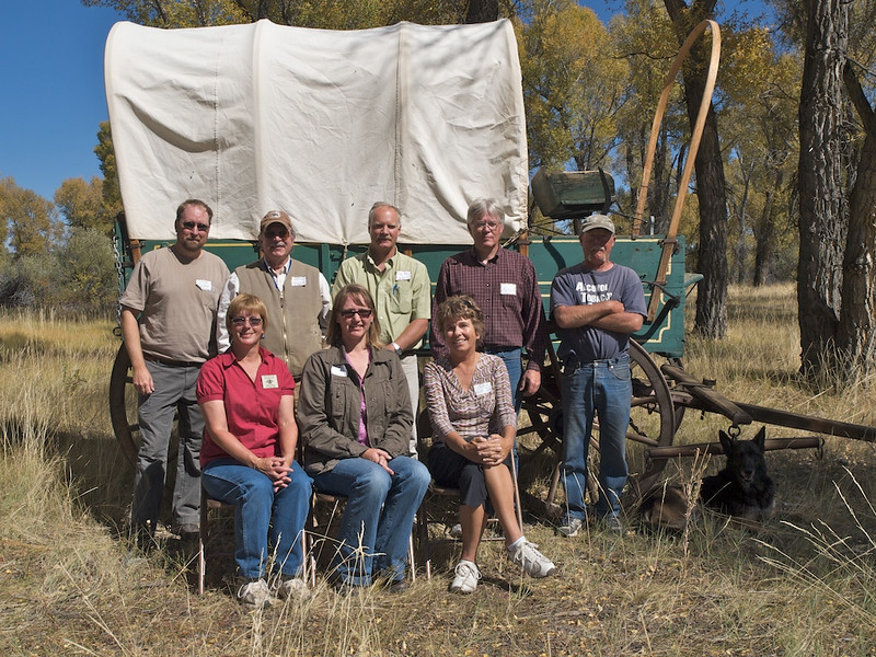 Sublette County Historical Society members