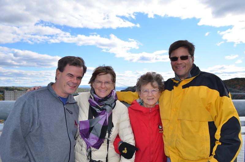 Brian, Leslie, Hildegard and Ed
