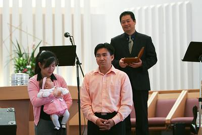 Baby Dedication 2007