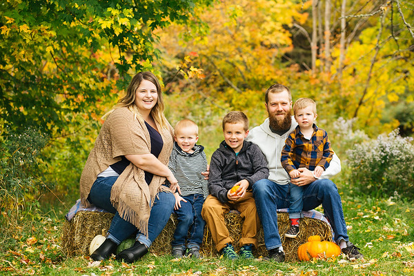 Fall Family Mini Sessions-The Mullins