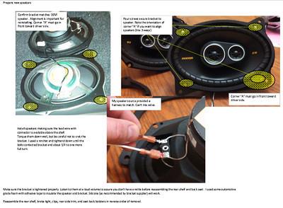 2005 Toyota Camry Rear Deck Speaker Installation - USA