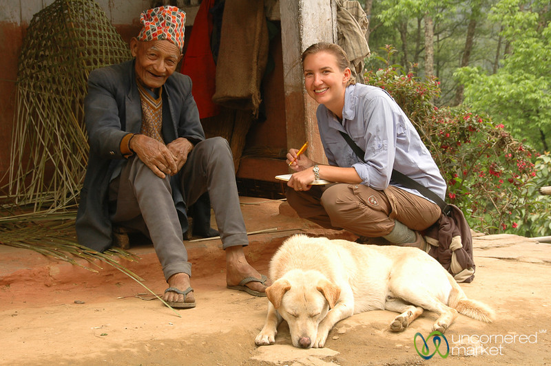 Audrey Takes Down an Address - Sikkim