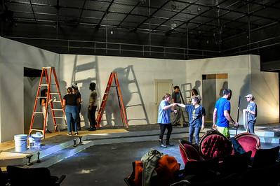 Pulp Theater Set Construction