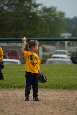 5-11-10 Midway 5-6yr old Baseball vs Kingston Bees