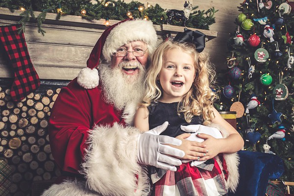 Santa Visit - November 5, 2017 (Avery 5/Riley 2)
