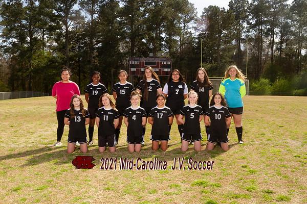 2021 jv girls soccer
