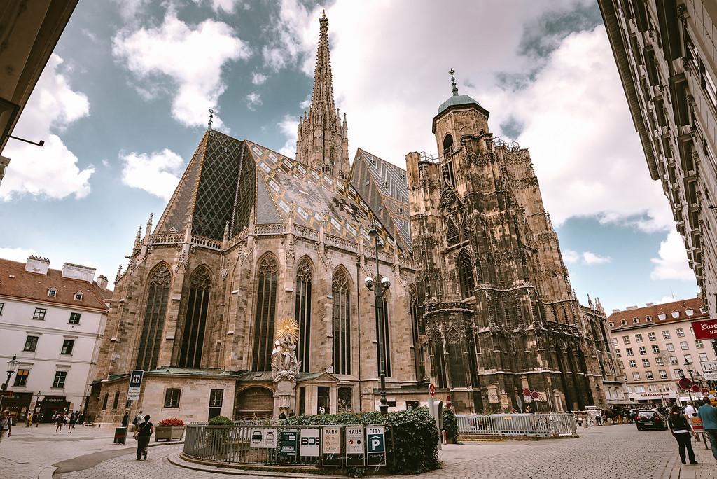 維也納 聖史蒂芬大教堂 Stephansdom by Wilhelm Chang 張威廉
