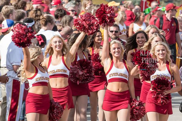 ISU Cheerleaders and Dance Teams