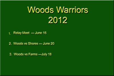 Woods Warriors  2012
